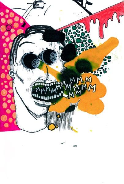 Image of Sketchbook zine #1 (mmmmmmmmmmmmmmm)