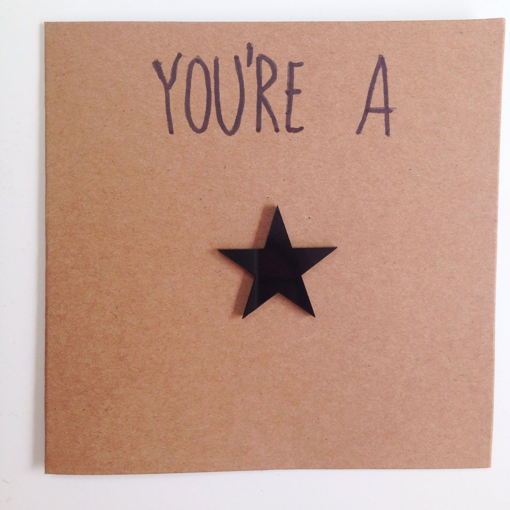 Image of ★You're A Star Magnet Gift Card