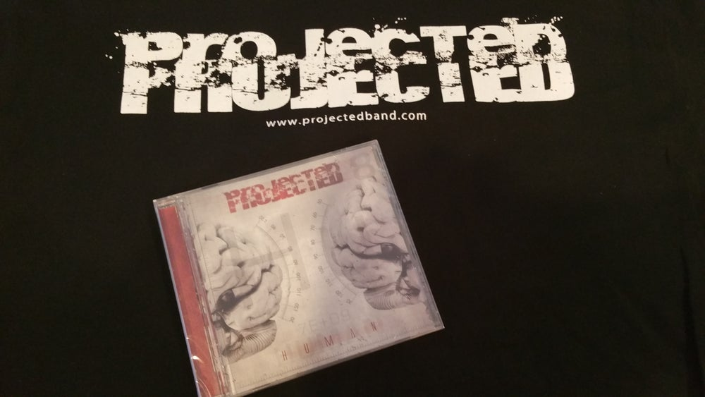 Image of Projected Tee and CD