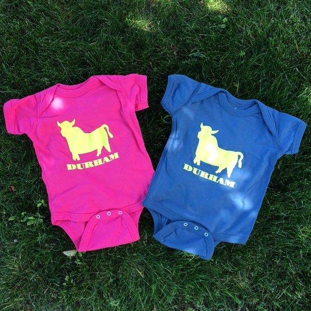 Image of BULL Icon infant romper - Pink ON SALE!