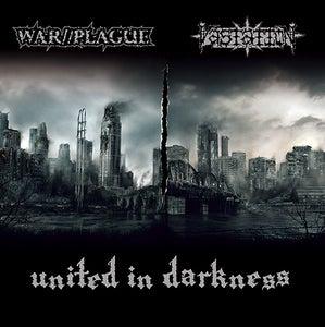 "Image of WAR//PLAGUE - VASTATION ""United in Darkness"" split e.p."