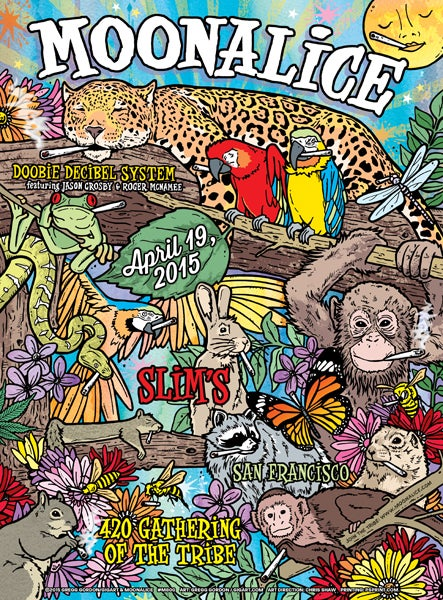 Image of Moonalice 420 Slims 2015