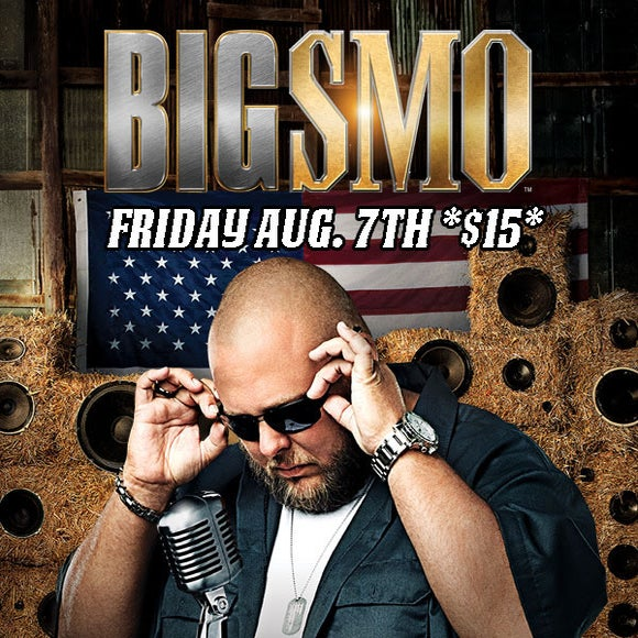 Image of Big Smo LIVE in Concert Friday August 7, 2015