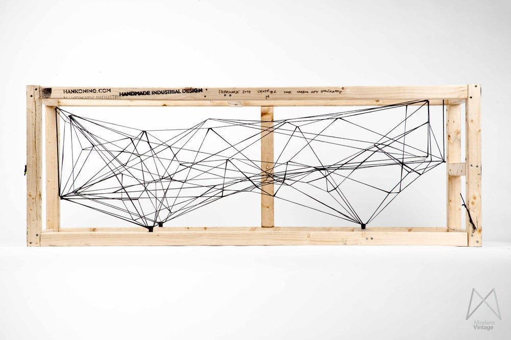 Image of Spaceframe M by Han Koning modern contemporary design art object