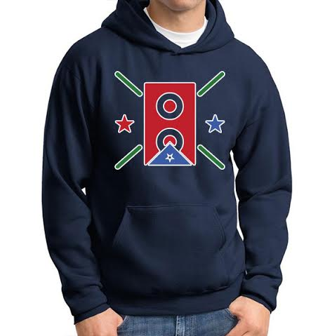 Image of Carlito Olivero Hoodie - Navy Blue