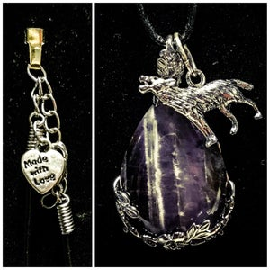 Image of Made With Love Amethyst Wolf