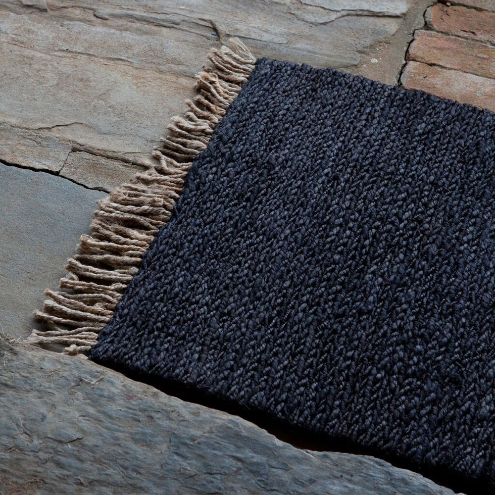 Image of Sahara Weave Entrance Mat | Charcoal