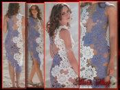 Image of Crochet Patterns eBook Irish Lace Dresses Wedding Diagram FREE SHIPPING - JMDIG