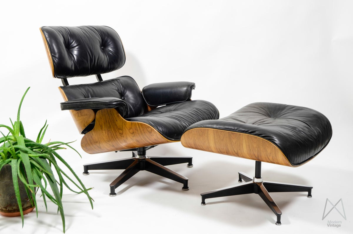 modern vintage amsterdam original eames furniture eames herman miller rio rosewood. Black Bedroom Furniture Sets. Home Design Ideas