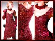 Image of Crochet Patterns eBook Irish Lace Dresses Wedding Diagram FREE SHIPPING - JMEFB