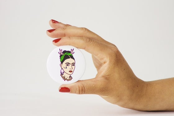Image of Saint Frida #2 Button