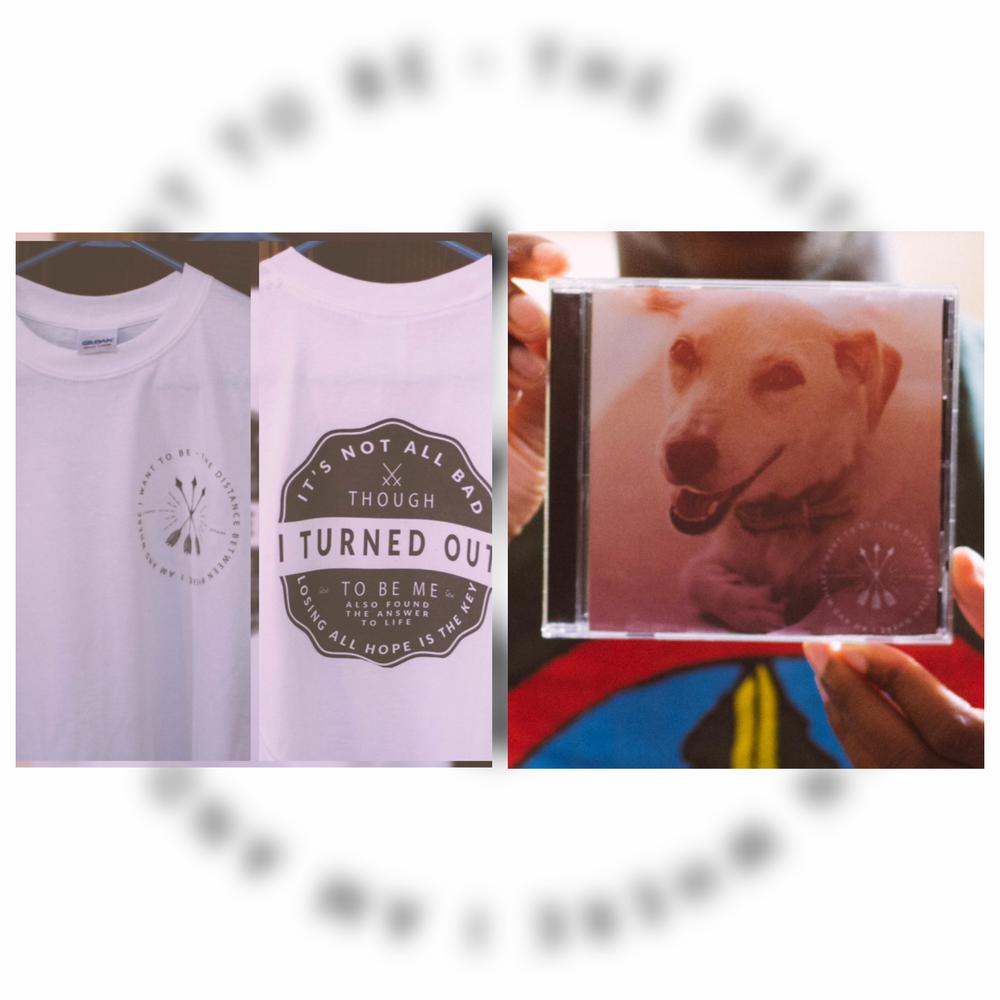 Image of T-Shirt & CD