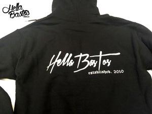 Image of HB Tropical Getaway Hoodie (Black)