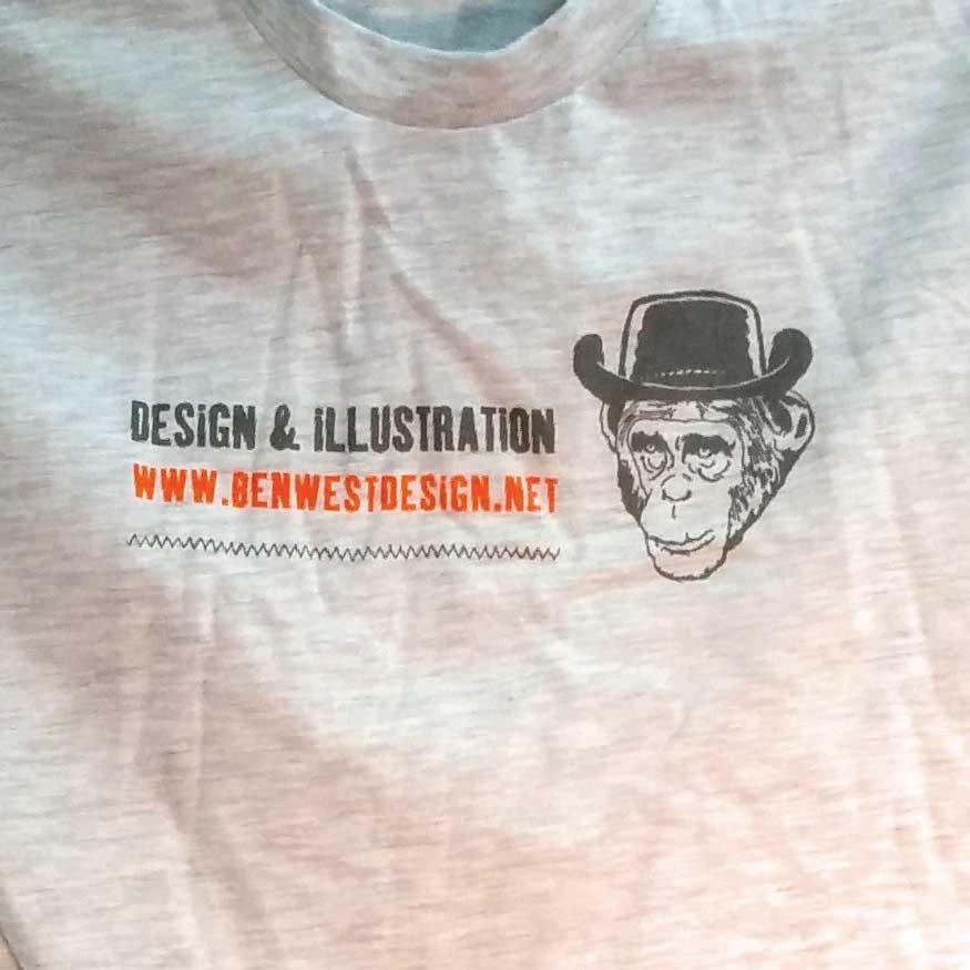 Image of Ben West Design T-shirt