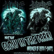 Image of 'Harbinger Of Death' Glow In The Dark T-shirt