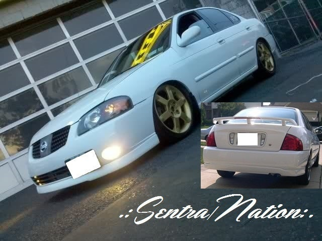 Image of (B15) Nismo Style Front+Rear Lip Combo 04-06 Sentra (All trim)