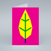 Image of Yellow Leaf card