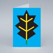 Image of Black Leaf card