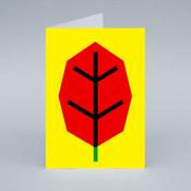 Image of Red Leaf card