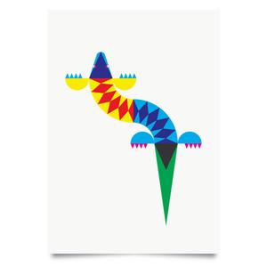 Image of Lizard print