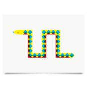 Image of Snake print