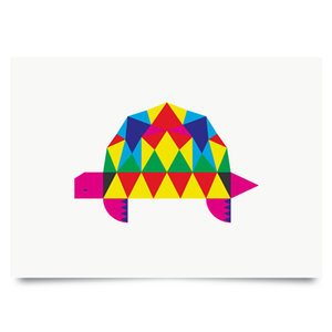 Image of Tortoise print