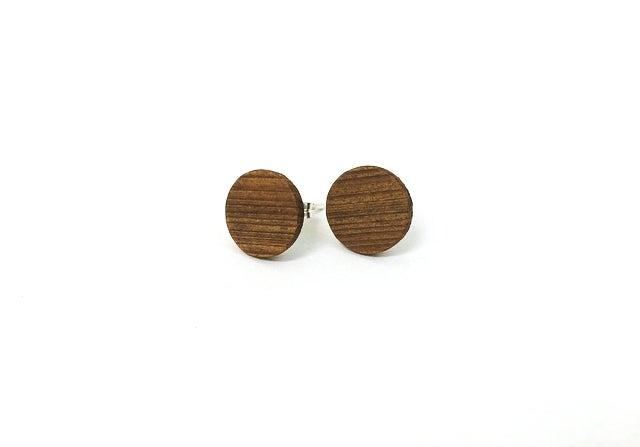 Image of Circle Post Earrings