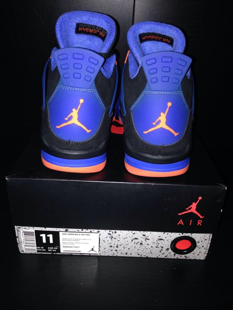 "Image of Air Jordan 4 Retro ""Cavs/Knicks"""