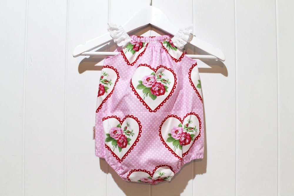 Image of Valentine Rose Playsuit