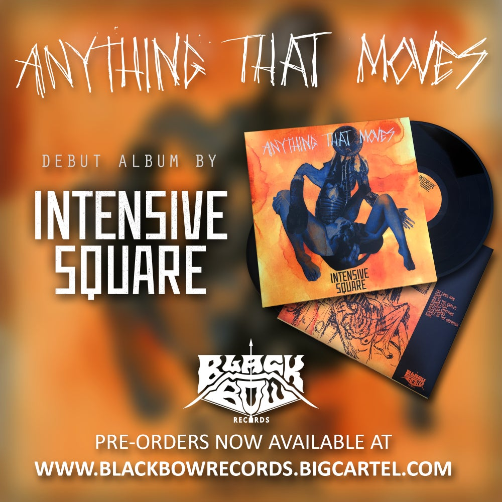 Image of INTENSIVE SQUARE - ANYTHING THAT MOVES 12 INCH VINYL