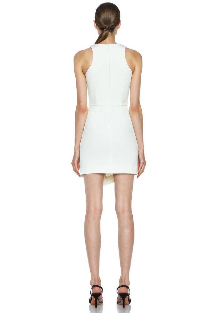 Image of FASHION CUTE CUT ELEGANT DRESS