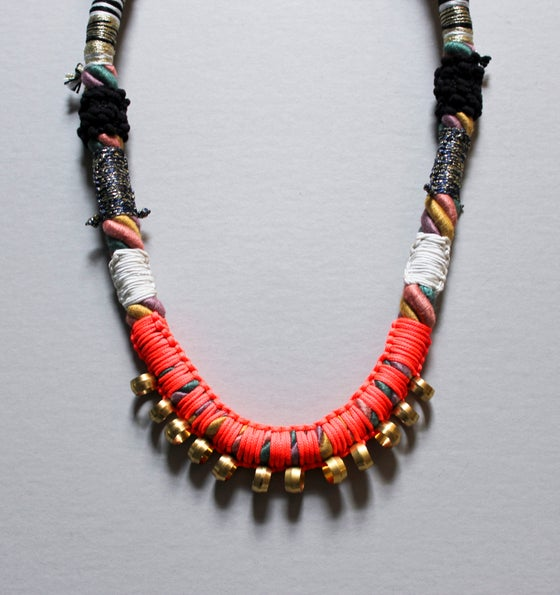 Image of Golden Sun necklace
