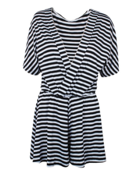 Image of Striped Romper