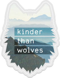 Image of Clear Wolf Sticker