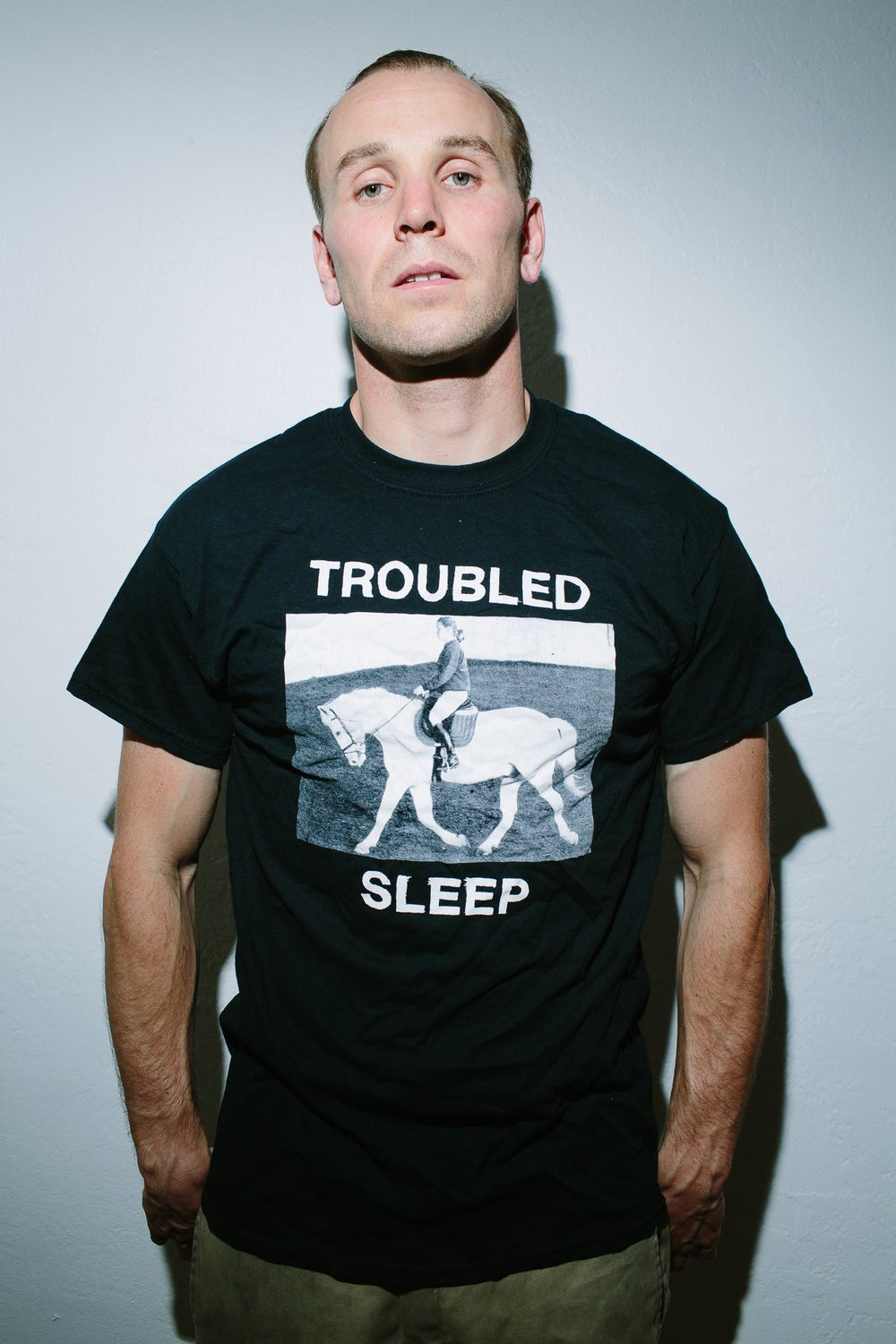 Image of Troubled Sleep Mary's Mom Shirt