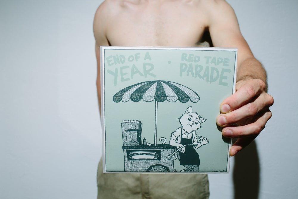"""Image of Split with Red Tape Parade 7"""""""