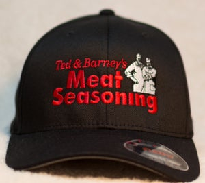Image of Ted and Barney's Flexfit hat in black