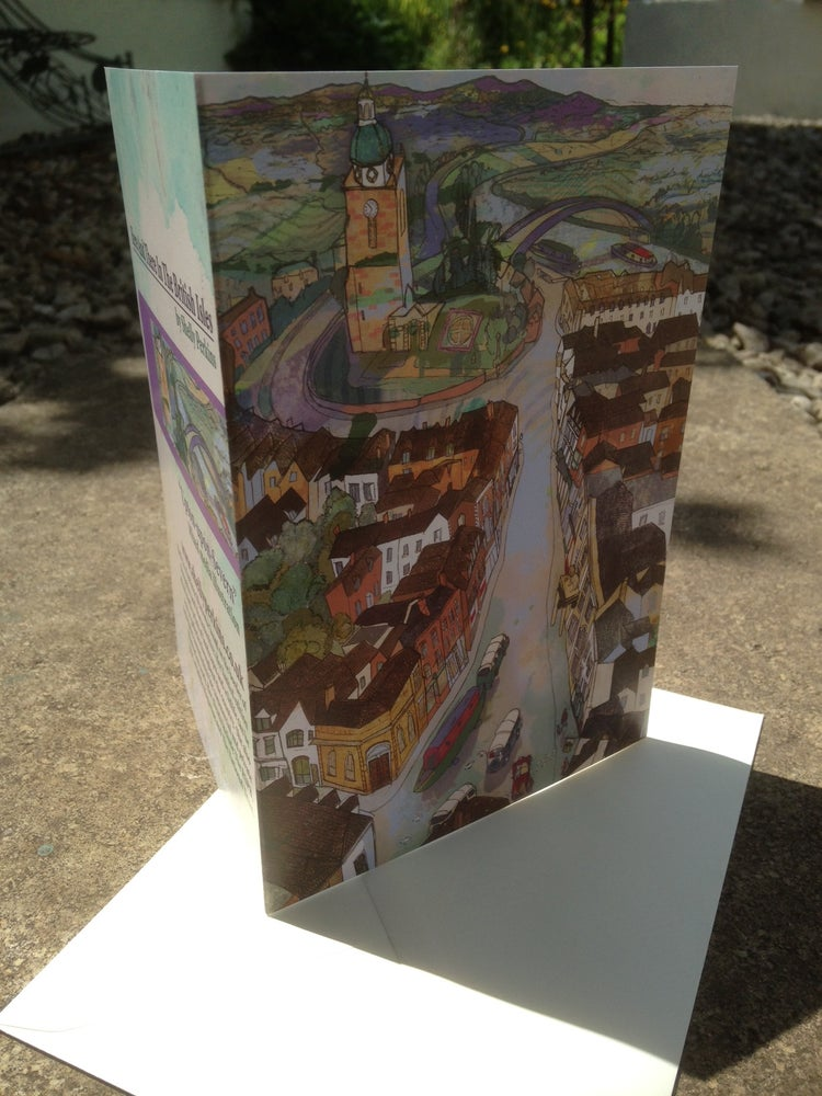 Image of Upton-Upon-Severn Greetings Card