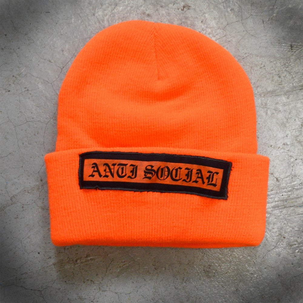 Image of BEANIE - ANTI SOCIAL