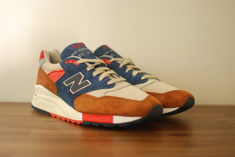 Image of J. Crew x New Balance 998 Hilltop Blues