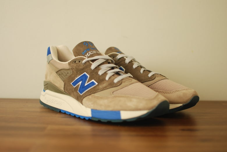 Image of J. Crew x New Balance 998 Pebble Blue