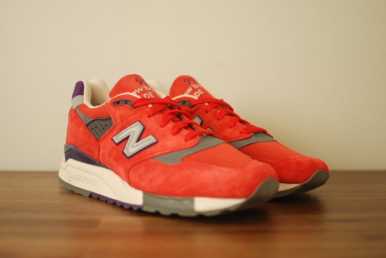 Image of J. Crew x New Balance 998 Inferno