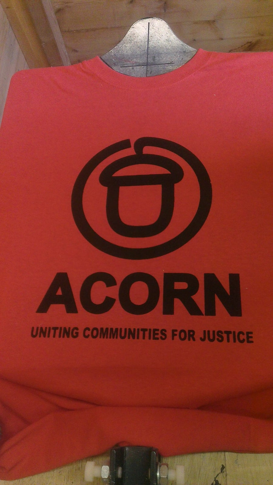 "Image of ""Uniting Communities for Justice"" T-shirt"