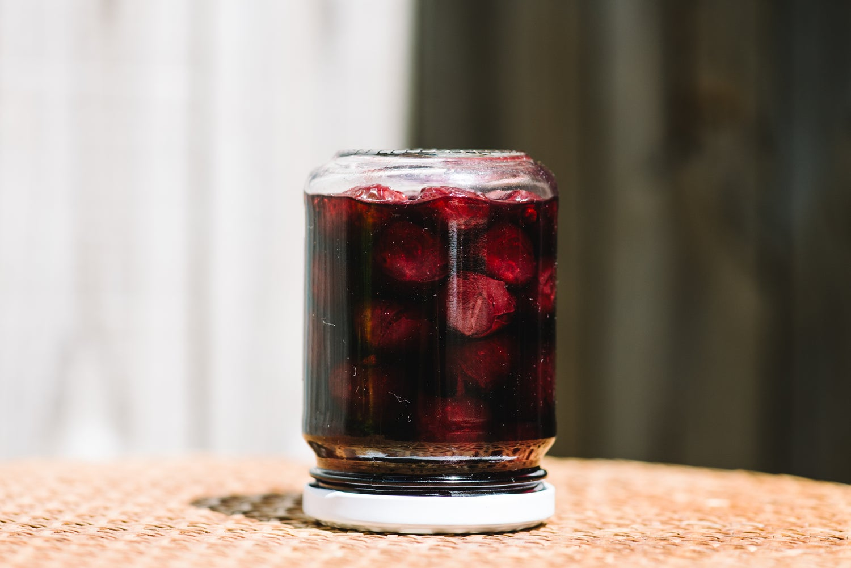 Image of organic cherry + clove pickle
