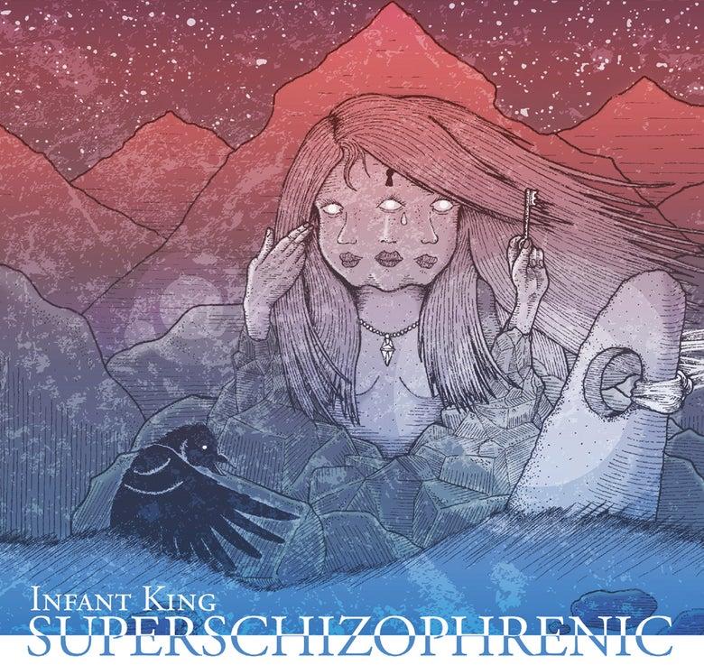 """Image of """"SUPERSCHIZOPHRENIC"""", Album auf CD"""