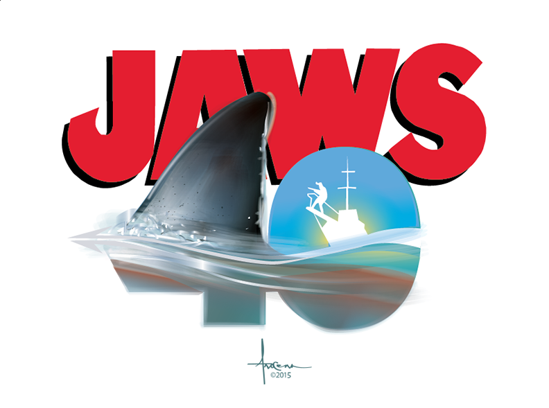 Image of JAWS 40th 24x18 Edition of 15