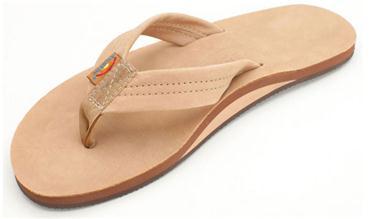 Image of Mens Rainbow Single Layer Sandal