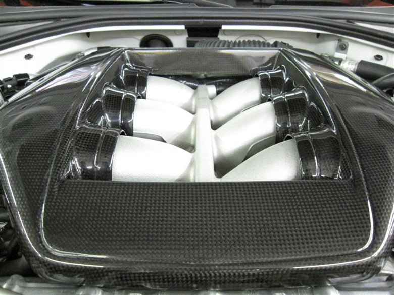 Image of Full Carbon Fibre OEM Style engine cover