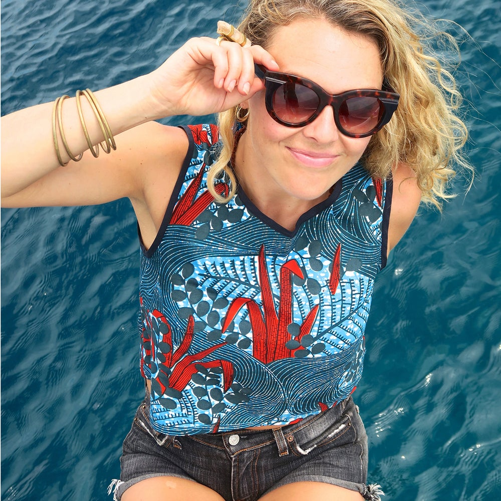 Image of Source cotton summer top