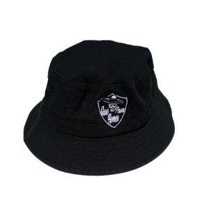 Image of QUE PASA HOMES BLACK BUCKET HAT